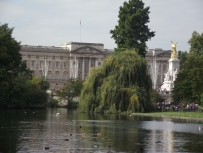 Buckingham Palace from St. James Park.