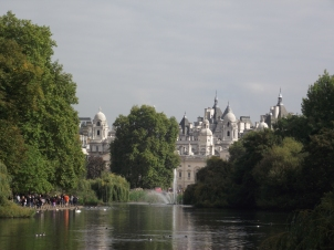 The view from St. James Park