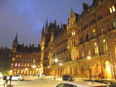 St. Pancras: part of Harry Potter was filmed here.