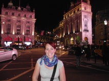 In Piccadilly Circus