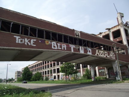 The Packard Plant, Detroit, Michigan